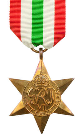 star wars: The Italy Star Second World War Medal