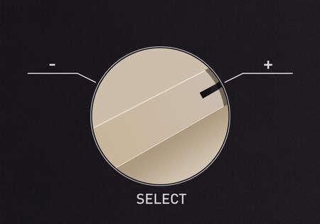 Composez basculer pour passer du n�gatif au signe plus