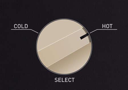 Composez basculer pour passer du froid au chaud