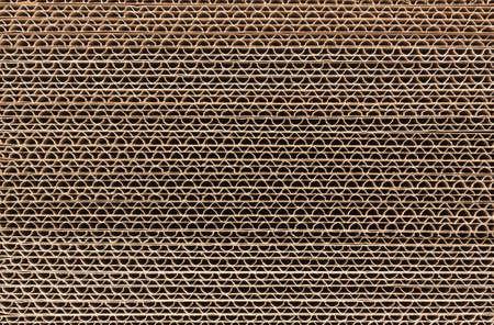 Stack van golfkarton in een grote stapel