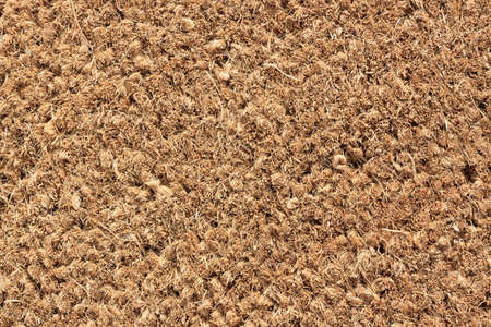 Close-up of Door Mat - Macro Texture