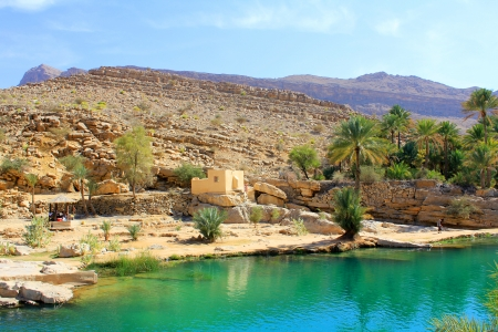 bani: waterpool in Wadi Bani Khalid, Oman