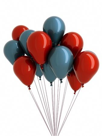 a balloons on white photo