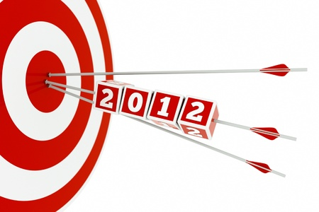 a 2012 concept with arrows and aim photo
