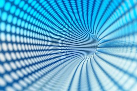 quantum: een spiegelende draad achtergrond