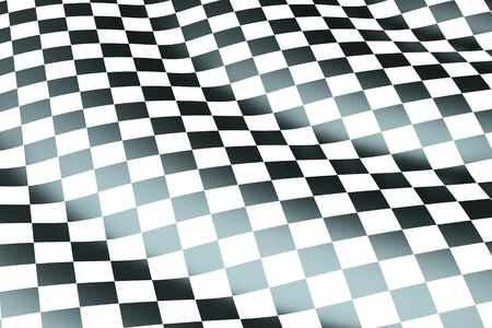 a chessboard wave background Stock Photo - 11004292