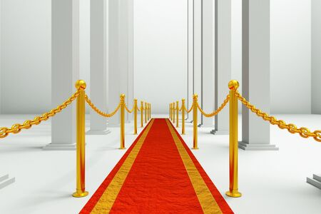 a red carpet background  photo