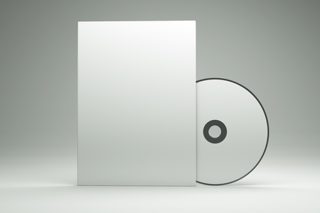 a box with cd disk Stock Photo - 11573302