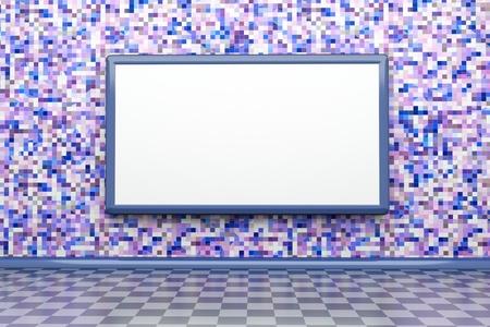 plazma: a creative room with blackboard