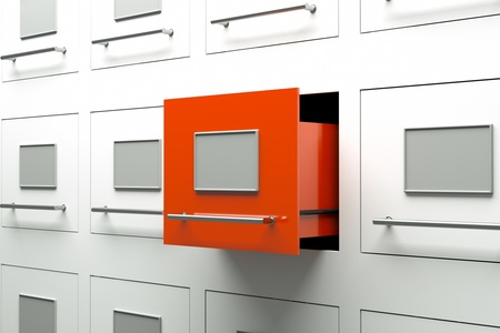 a drawer cabinets as a background Stock Photo - 13670679