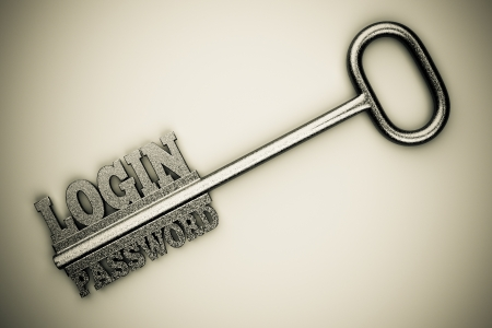 a single key with two words