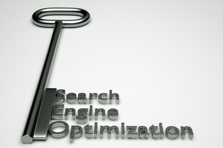 techiques: a seo concept on grey Stock Photo