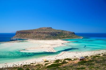 a sea background, greece island crete