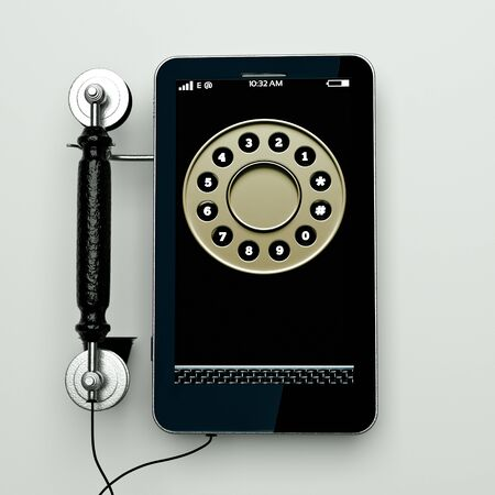 old new: an age shift concept, combination of old and new phones in one