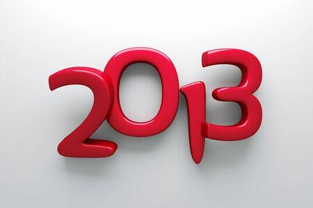 a 3d render of 2013 symbol photo