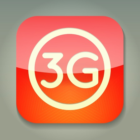 3g: un icono con 3g palabra