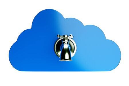 a creative cloud icon with tap Stock Photo - 16820646