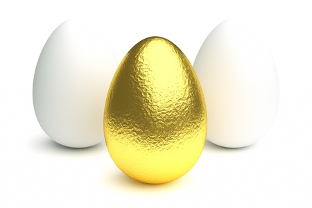 expensive food: a golden egg