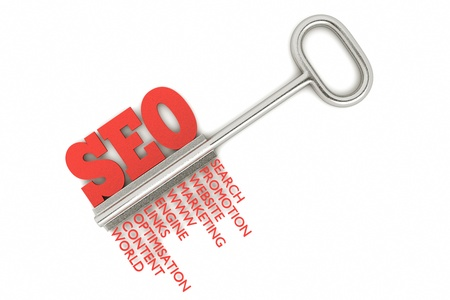 meta tags: a seo concept with key