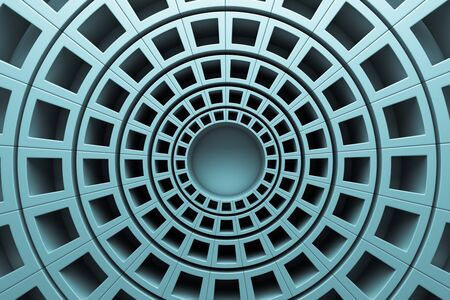 a 3d render of abstract rounds background Stock Photo - 18269363