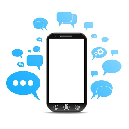 wall cell: a cellphone chat concept