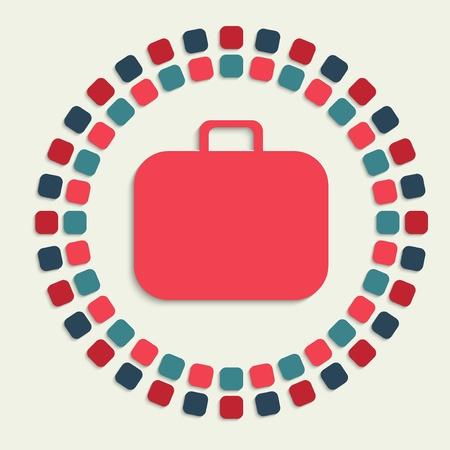 duffle: creative vector mosaic icon