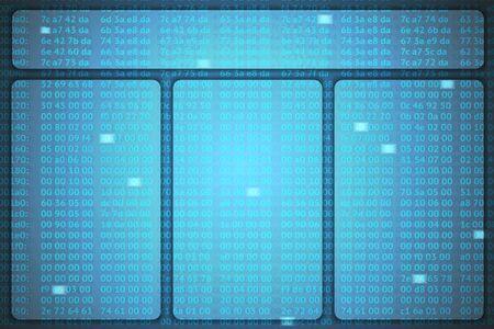 hex codes vector template Stock Vector - 23398235
