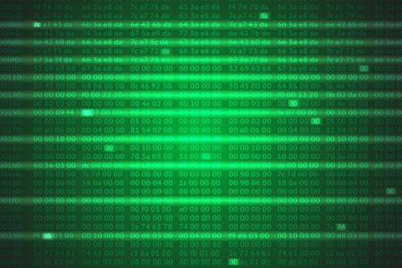 hexadecimal: hex codes vector background