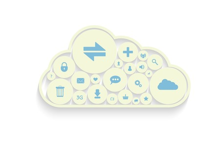 synchronizing: Cloud computing concept design