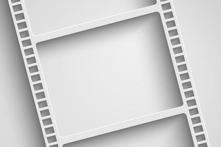 35 mm: vector film reel background