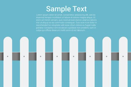 fence post: Creative vector fence for your design