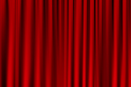 drapes: curtain or drapes red background. Eps10 vector for your design