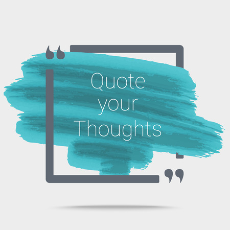 Quote Typographical Poster Template