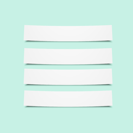 paper tags: Set of paper tags. Eps10 vector for your design