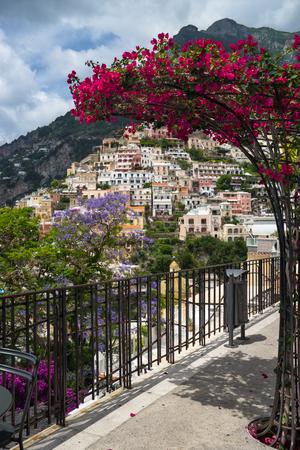 positano: Coast of Amalfi. beautiful Positano view for your design