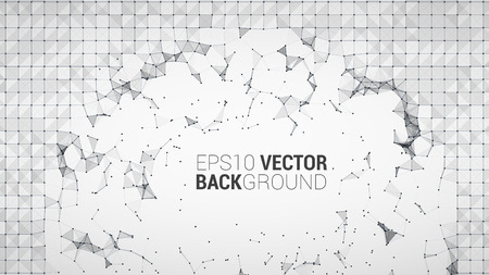 triangle pattern: triangle mosaic vector background design