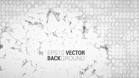 light backround: triangle mosaic vector background design