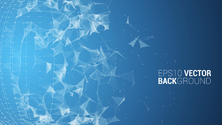 backround: triangle mosaic vector background design