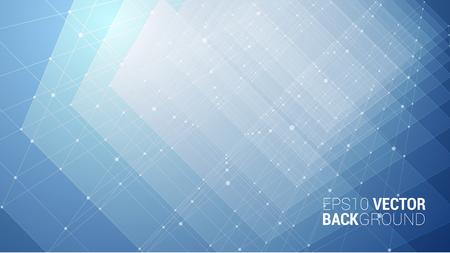 Vector Abstract futuristic background Stock Illustratie