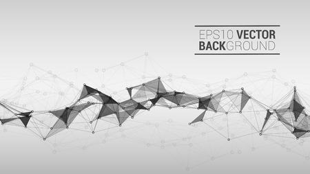light backround: Triangle mosaic vector background design Illustration