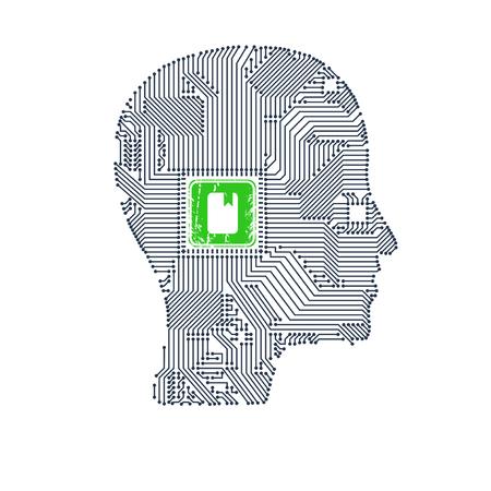 Circuit board head