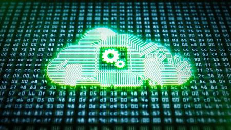 Circuit Cloud Computing on HEX codes
