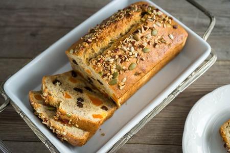 Homemade banana bread