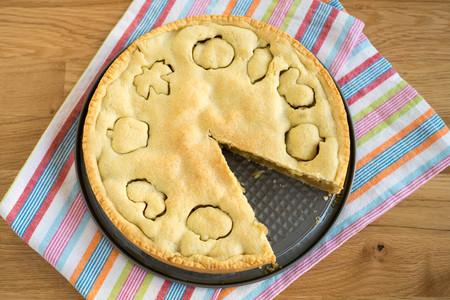 Homemade apple pie Stock Photo