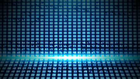 Blue Programming HEX Code