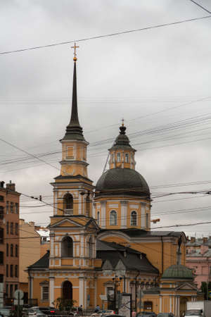 the righteous: Holy and Righteous Simeon and Anna the Prophetess church on Belinsky street in St. Petersburg