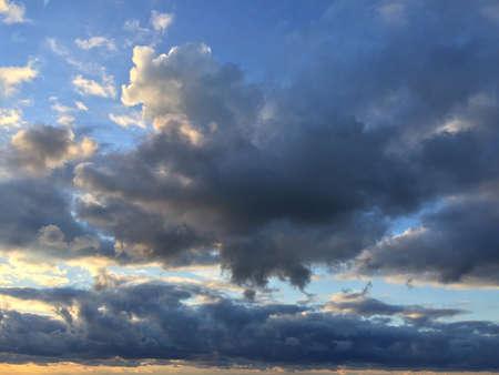 エリー湖の上空