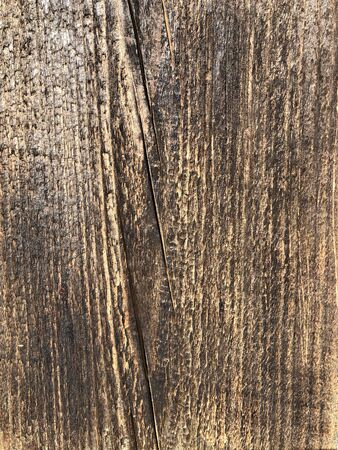 Old brown wood background made of natural wood in grunge style. Natural raw planed texture. The surface to shoot flat lay. Copy space 版權商用圖片