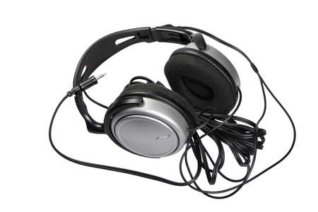Studio Electronic Headphone Isolate on white background