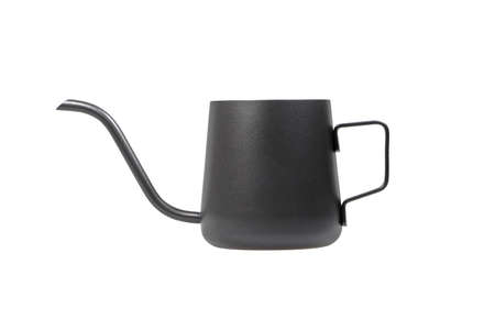 Black Coffee Kettle isolate on white background